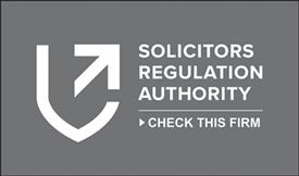 Solicitors Regulation Authority (SRA) Logo Grey